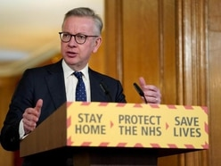 Ventilators are being made and brought in for the NHS, Michael Gove says