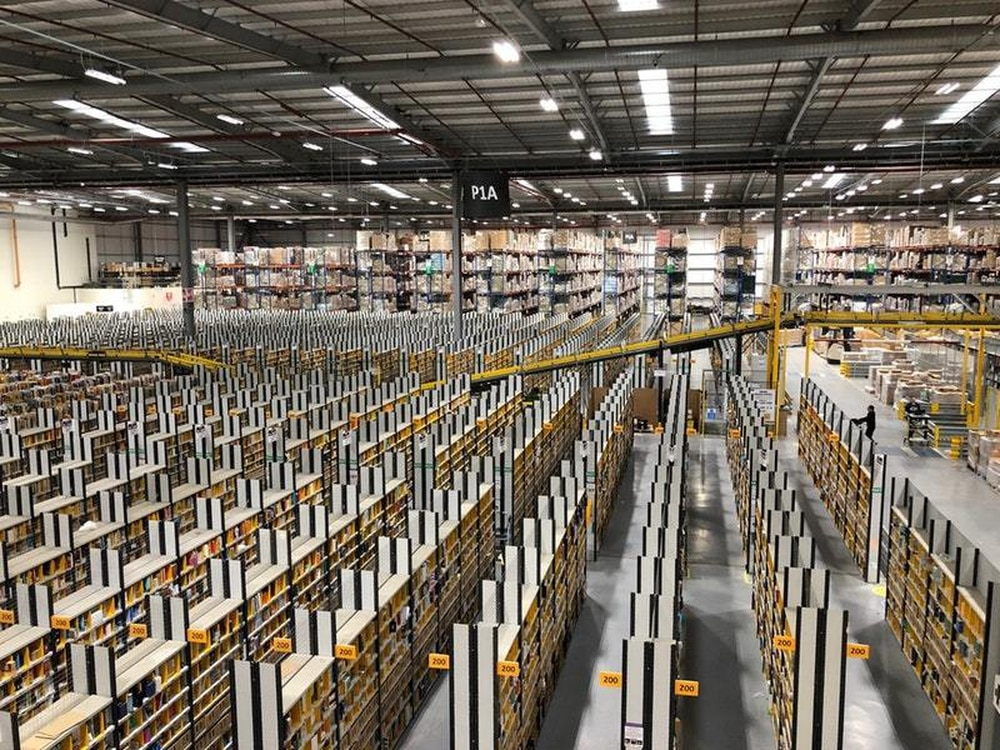 Amazon warehouse 'deep-cleaned' after worker contracts Covid-19 ...