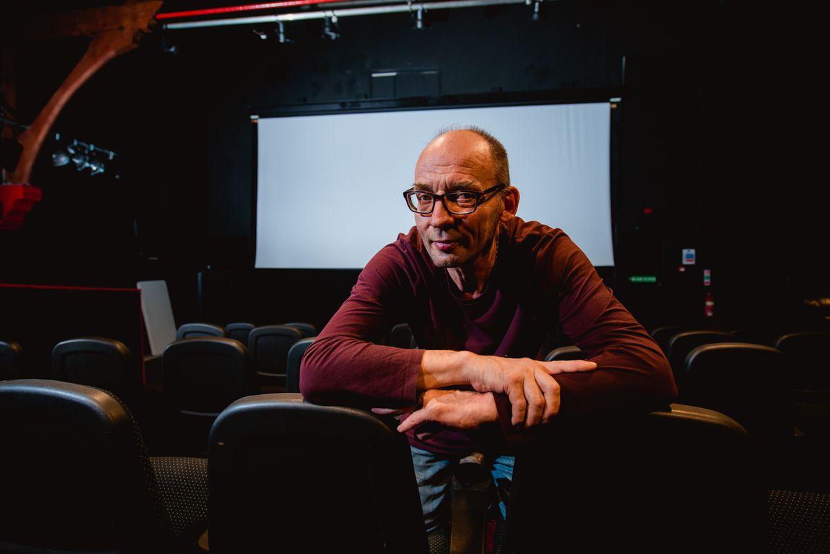Ian Garland of Kinokulture Cinema in Oswestry