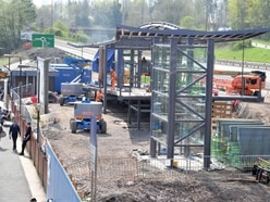 New footbridge for Telford nearing completion