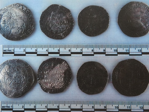 300-year-old coins found in north Shropshire declared treasure