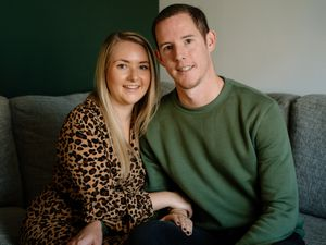 Phil Roberts and Rebecca Percox from Broseley, have had to cancel their wedding multiple times due to the pandemic