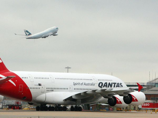 "Qantas Chief Executive Alan Joyce said he's been talking to his counterparts at other airlines around the world about the possibility of a ""vaccination passport"""