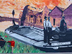 The new mural in Co Kildare