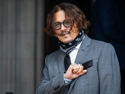 Johnny Depp finally finishes giving evidence in 'wife beater' libel case