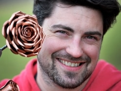 Things look rosy for Shropshire metalworker James - with video