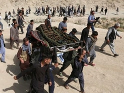 IS claims responsibility for suicide attack that killed 34 students