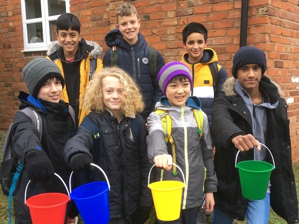 Newport pupils strap on their boots for £1.25 million pavilion upgrade