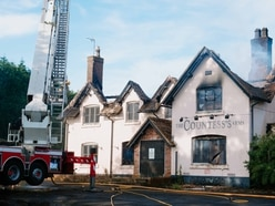 'Absolutely scandalous': Dismay after fire destroys empty public house in Shropshire
