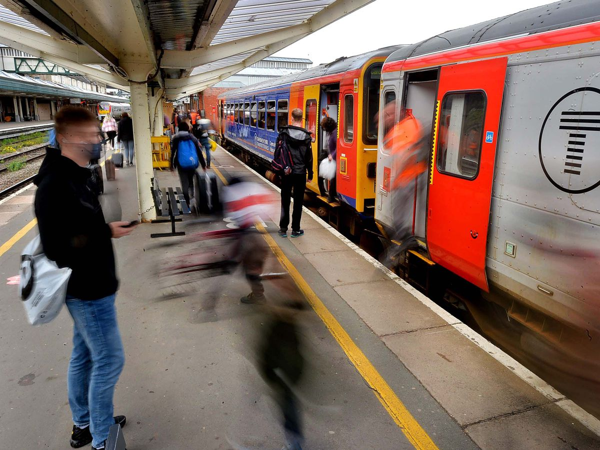 The letter calls for improvements to the line between Shrewsbury and Birmingham