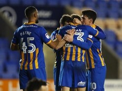 Checkatrade Tropy Quarter Final: Shrewsbury Town 2 Oldham 1 - Report and pictures