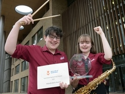 Telford school's jazz band claims top prize