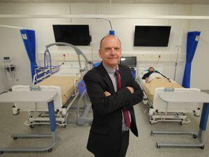 Vice chancellor Professor Geoff Layer