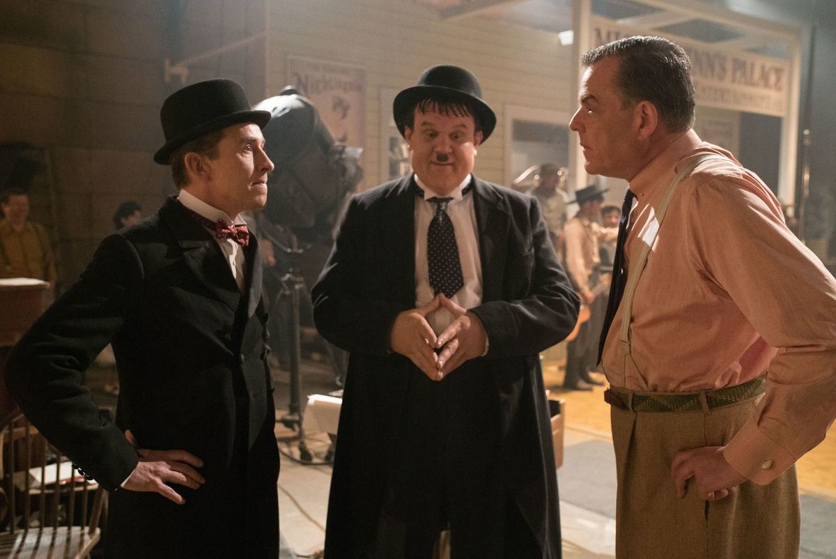 Steve Coogan and John C Reilly star in the new Stand & Ollie film