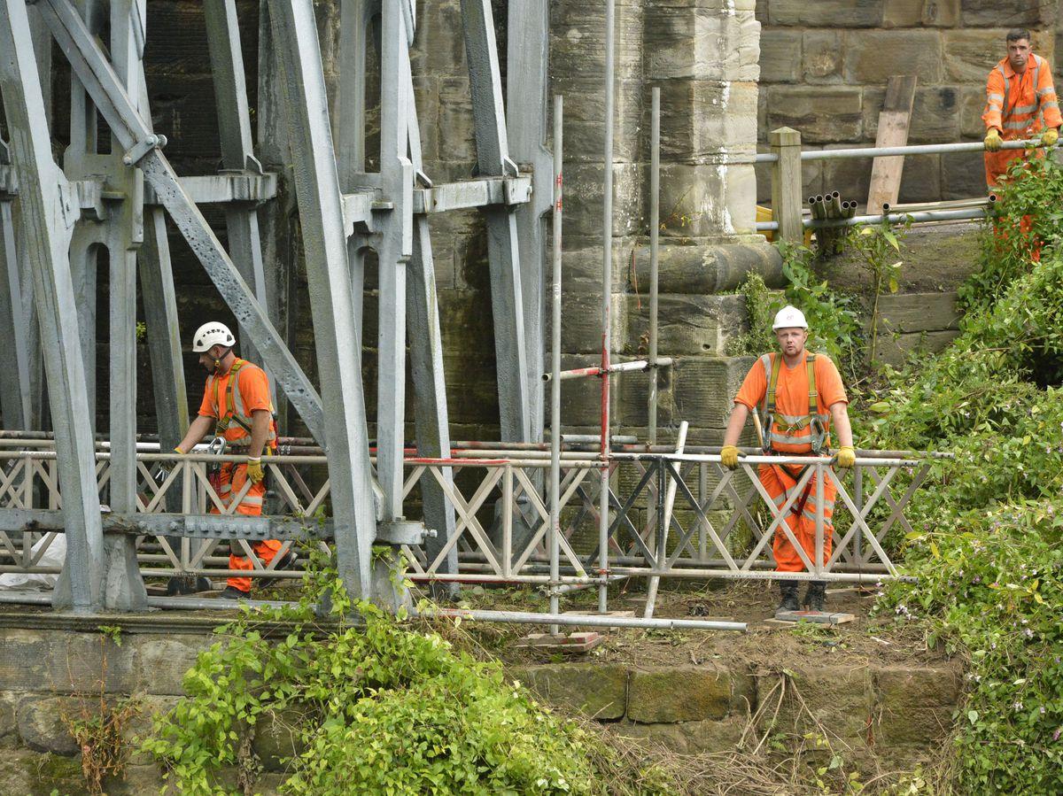 Repairs to the bridge will cost £1.2 million