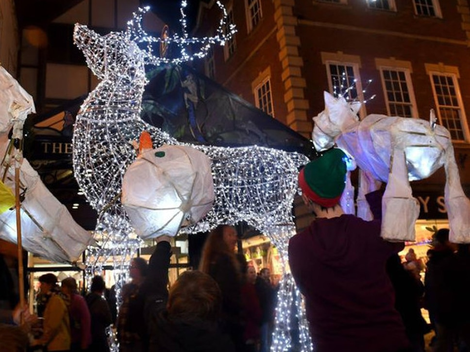 Find out when Shropshire's big Christmas lights switch-ons are