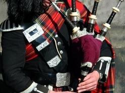 Shropshire piper's tribute to captured Highland men