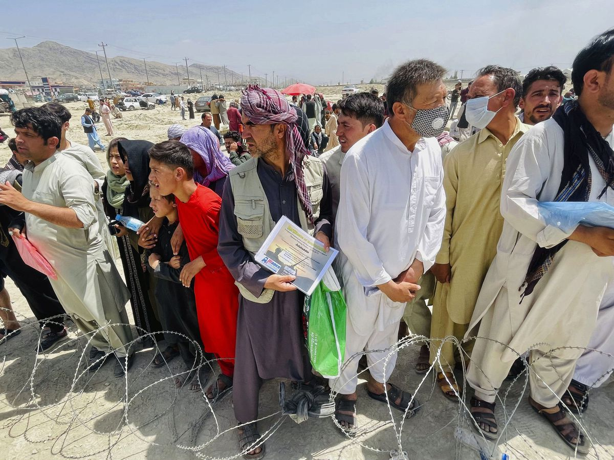 Donations have poured in for those fleeing Afghanistan