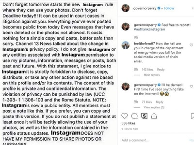 Man in charge of US nuclear weapons among thousands sharing hoax Instagram post