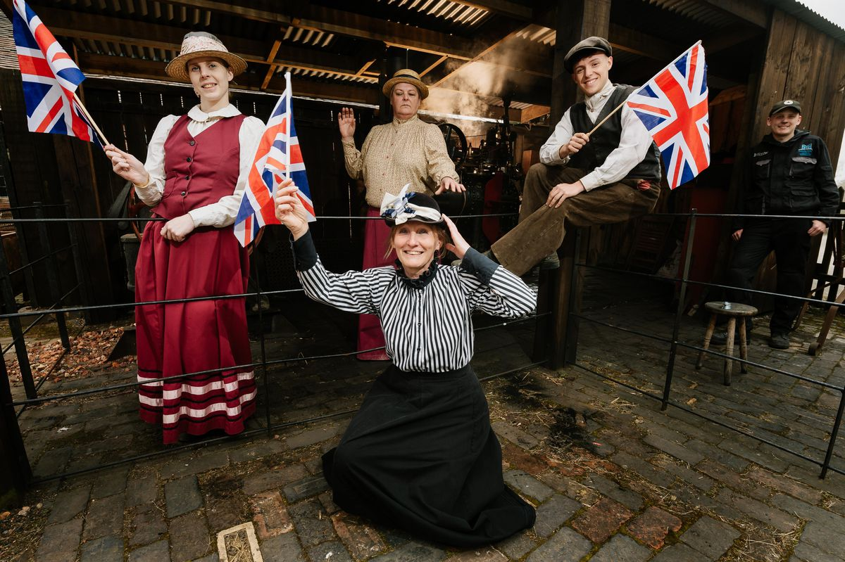 Staff at Blists Hill preparing to reopen [no names provided]