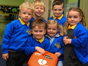 Lifesaving kit installed at Shrewsbury primary school