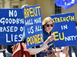 'Full British Brexit' row as thousands take to streets, two years on from vote