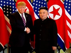 Laughs and small talk as Donald Trump and Kim Jong Un meet again