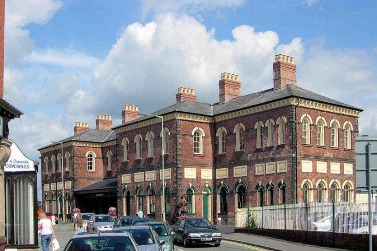 Oswestry railway station