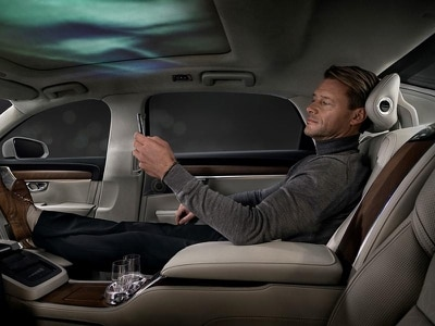 Volvo's S90 Ambience Concept 'redefines in-car luxury'