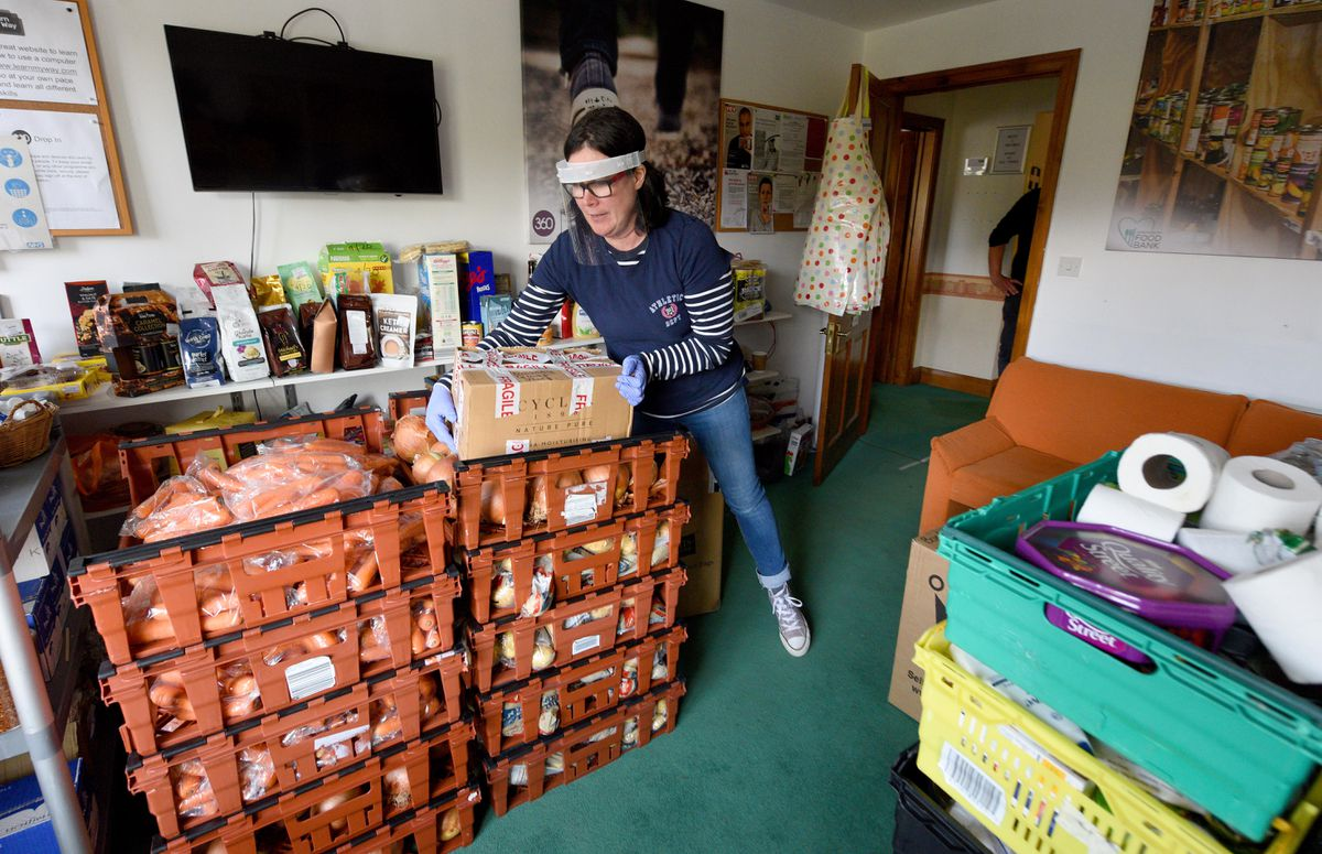 Karen Williams, project leader for Food Bank Plus in Shrewsbury, said there had been an increase in the need for support during the pandemic