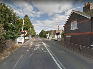 Harlescott Lane level crossing. Photo: Google Street View
