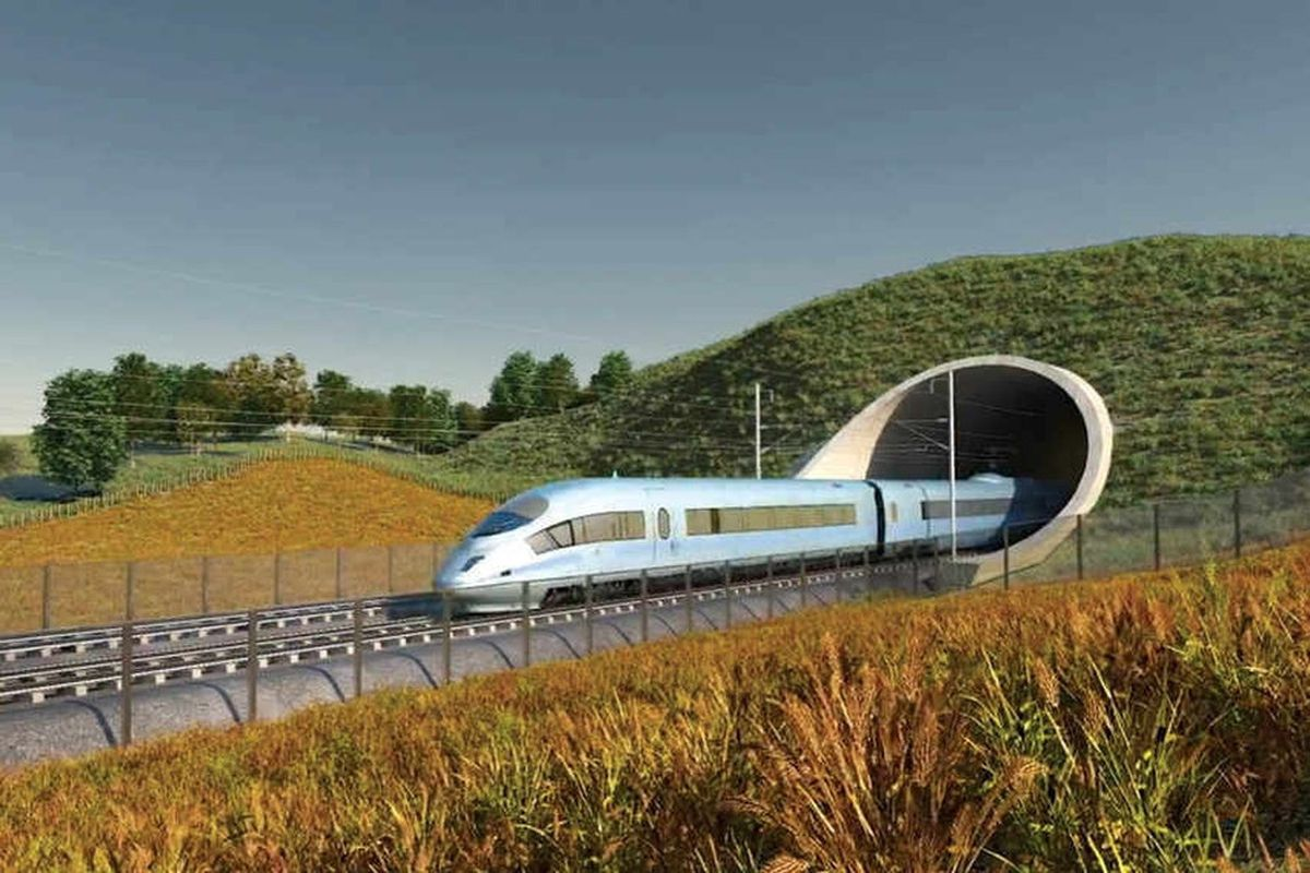 There are concerns that Woore will be blighted by construction traffic from HS2