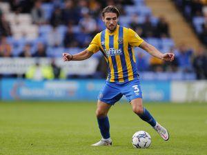 Luke Leahy of Shrewsbury Town.