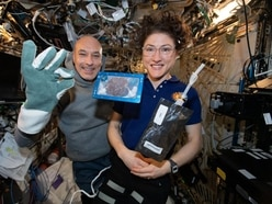 Earthly comforts await astronaut after longest stay in space for a woman