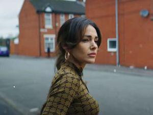 Michelle Keegan was also filming in Shrewsbury