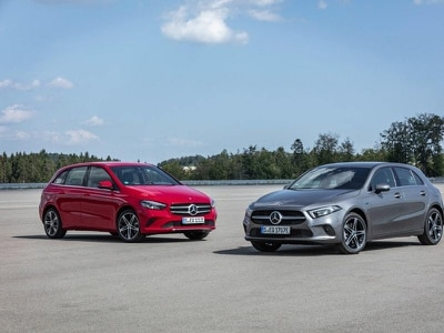 Mercedes sparks more life into A and B Class with plug-in hybrid models