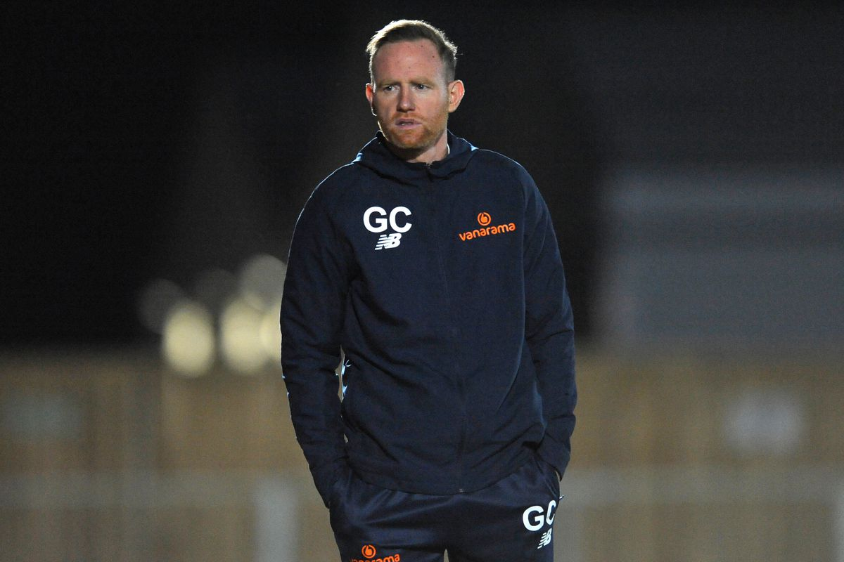 Gavin Cowan's men return to training today, 24 hours prior to a trip to Alfreton, after their Covid outbreak. Pic: Mike Sheridan/Ultrapress.