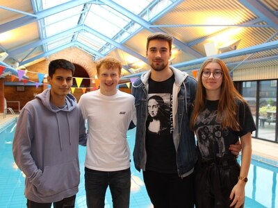 Shropshire students in 24-hour charity swimathon