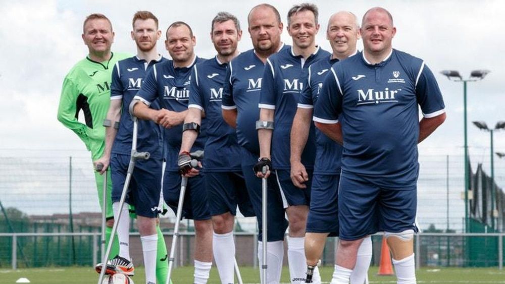 Scottish Amputee Football Team Heads To Holland For Tri Nation