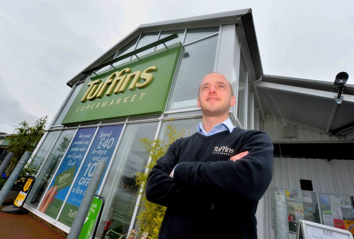 Craven Arms is safe and open to visitors is the message from local businesses, including Tuffins' commercial director Harry Delves.