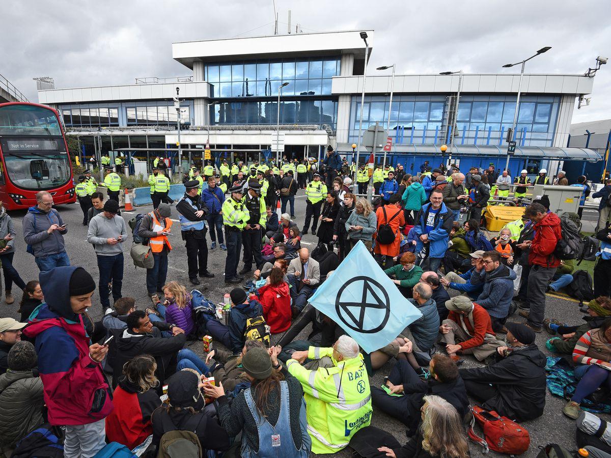 Extinction Rebellion protests