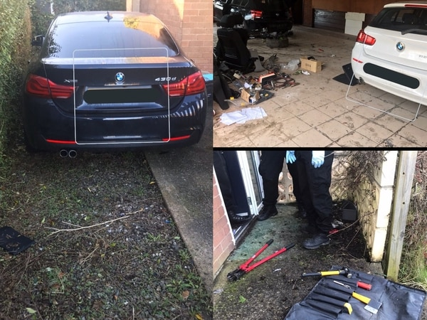 Arrest as £50,000 of stolen BMWs recovered near Oswestry