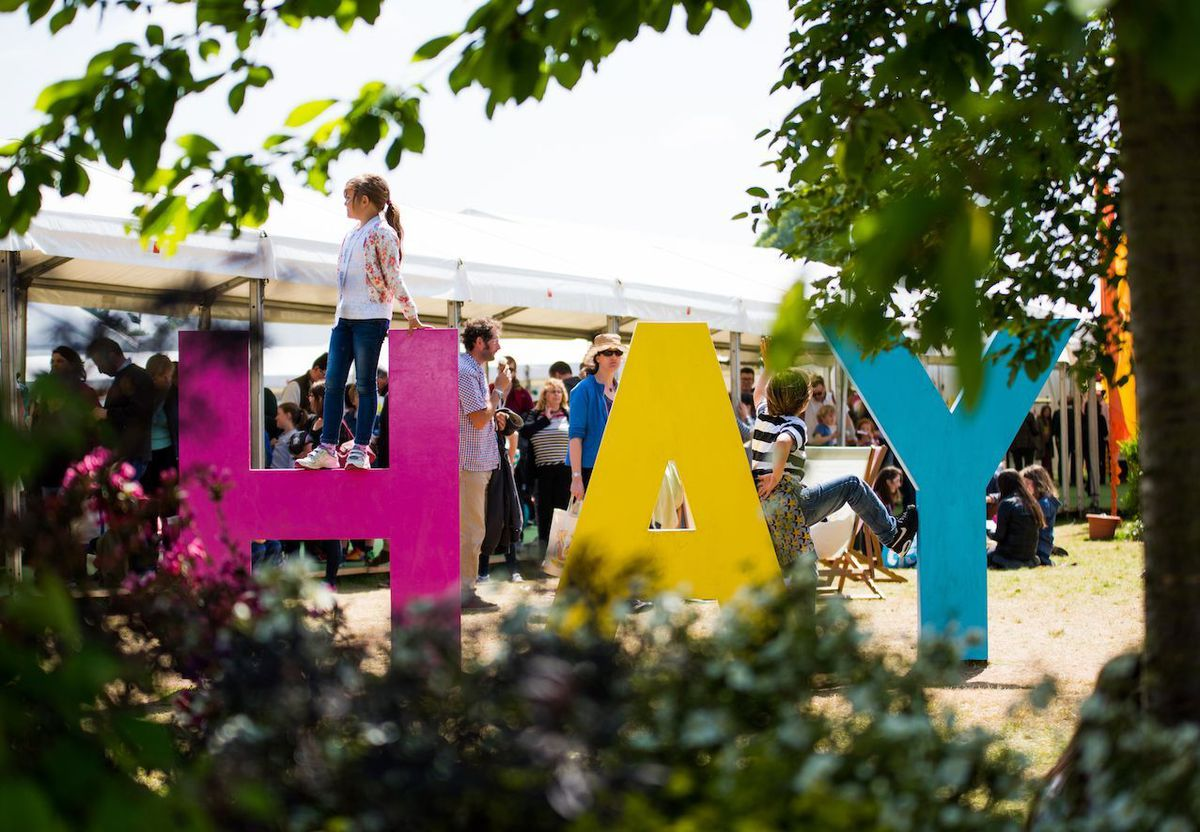 Hay Festival should has been taking place in the book town for 33 years. Photograph Christopher Bone (Hay Festival)