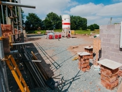 No sales until bomb scare building site near Oswestry gets all clear