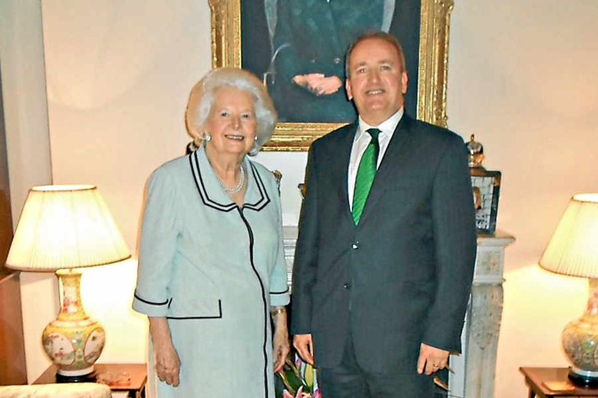 Margaret Thatcher sharp as ever, says MP Mark Pritchard