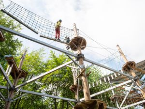 Sky Reach in Telford Town Park will open from Friday