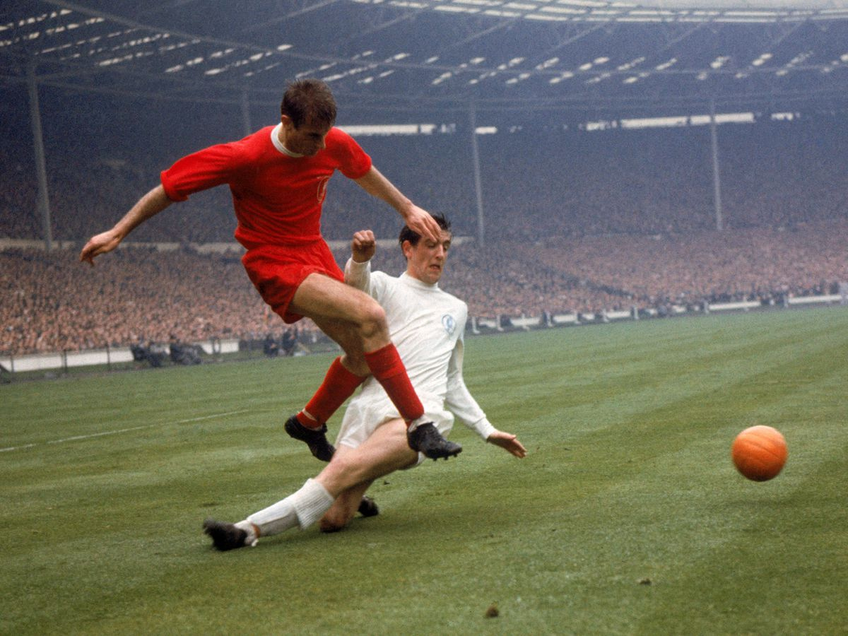 Roger Hunt is second on Liverpool's all-time goalscoring list