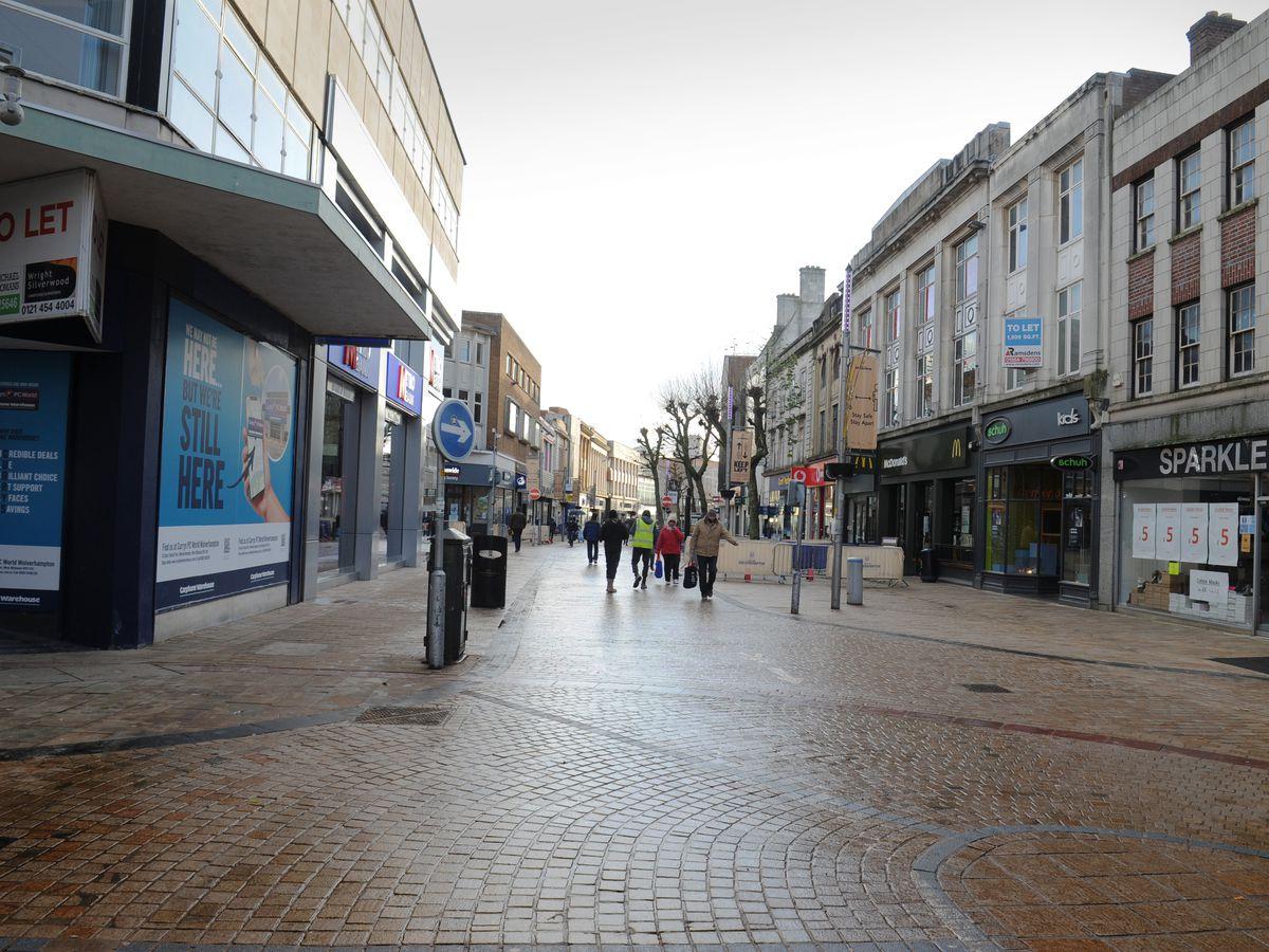 Wolverhampton City centre