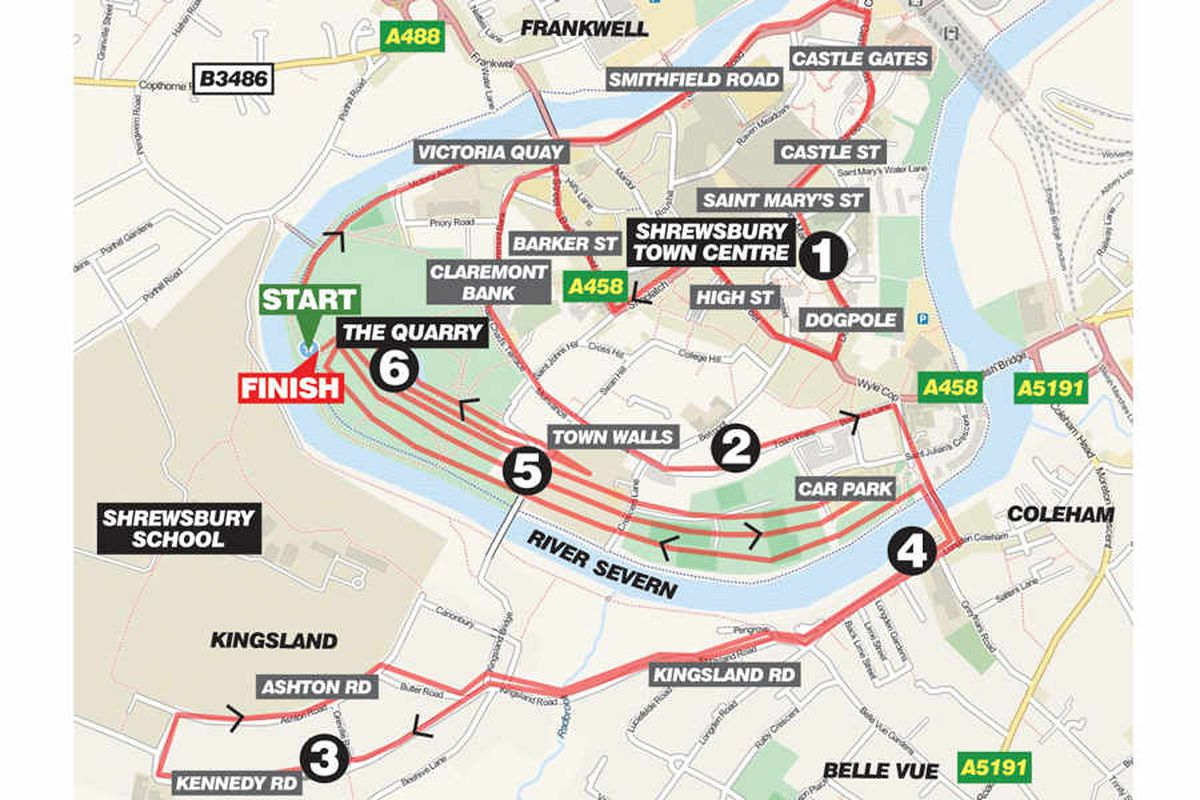 Shrewsbury to host its first ever marathon