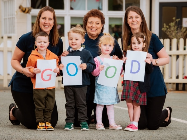 Oswestry nursery praised by Ofsted